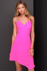 lulus neon pink